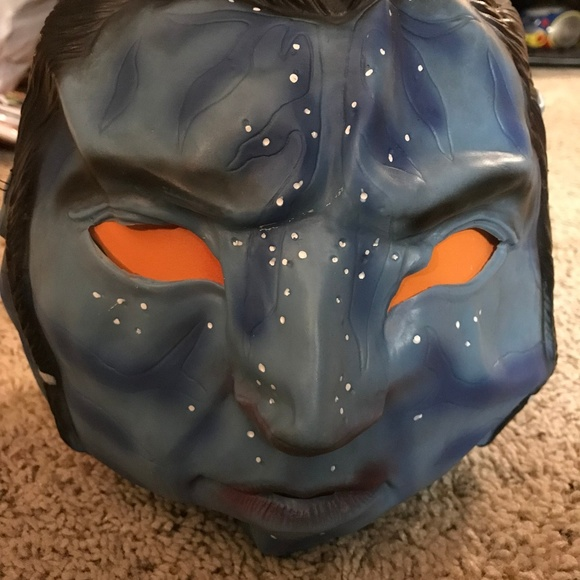 Rubies Other Avatar Jake Scully 34 Vinyl Halloween Mask Nwt